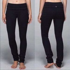 Lululemon Groove Pant Skinny Full On Luon Black
